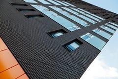 Alta costruzione veduta nella prospettiva Fotografie Stock Libere da Diritti