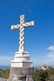 alta cruz Fotografia Stock