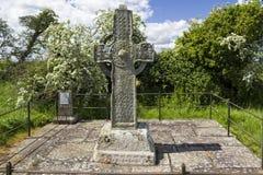 Alta cruz de Kilree Imagen de archivo