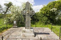 Alta cruz de Kilree Fotos de archivo