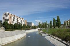 Alta de Lisboa i Orientalny park w Lisbon, Portugalia Obraz Royalty Free