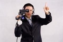 Alta definizione della videocamera Fotografie Stock