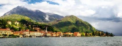 Alta definizione di Lago di Como (lago Como) Menaggio Immagini Stock Libere da Diritti