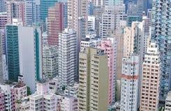 Alta densidad de Hong-Kong imagen de archivo