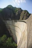 Alta diga del fiume Immagine Stock Libera da Diritti