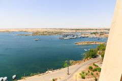 Alta diga - Egitto Fotografia Stock Libera da Diritti