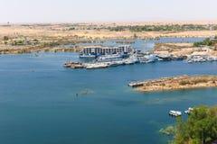 Alta diga - Egitto Immagine Stock