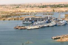 Alta diga - Egitto Immagini Stock