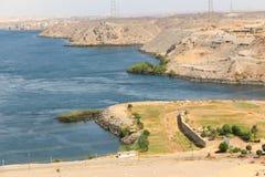 Alta diga - Egitto Fotografie Stock