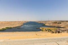 Alta diga - Egitto Immagine Stock Libera da Diritti