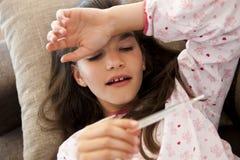 Alta febbre Fotografia Stock Libera da Diritti