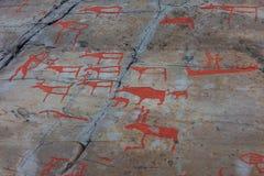 Alta-Felsenkunst Stockfotografie