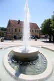 Alta fontana Immagini Stock