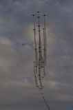 Alta formazione del airshow Immagine Stock