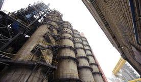 Alta fornace metallurgica Fotografia Stock Libera da Diritti