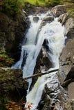 Alta garganta de las caídas Foto de archivo
