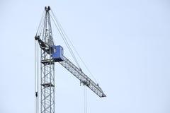Alta gru della costruzione Fotografie Stock Libere da Diritti