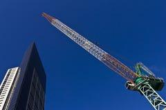 Alta gru di costruzione di aumento Fotografie Stock