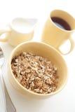 Alta immagine chiave di una prima colazione sana Fotografia Stock