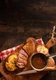 Alta immagine del seno di anatra di dimensione per i concetti dell'alimento Fotografia Stock