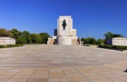 Alta immagine della gamma dinamica (HDR) di Jan Zizka Statue sulla collina di Vitkov, la più grande statua equestre nel mondo Fotografia Stock Libera da Diritti