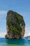 Alta isola Fotografie Stock Libere da Diritti