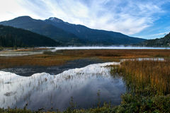 Alta jeziora Whistler Obraz Stock