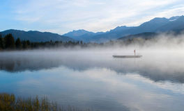 Alta jeziora Whistler Fotografia Stock