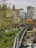 Alta línea, Chelsea, New York City Fotos de archivo