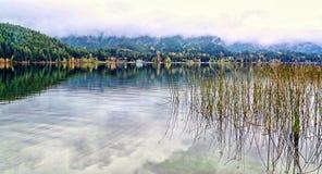 Alta Lake Canada arkivbilder