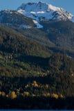 Alta Lake in Daling Stock Foto