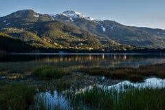 Alta Lake in Daling Royalty-vrije Stock Foto's