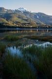 Alta Lake dans l'automne Photo stock