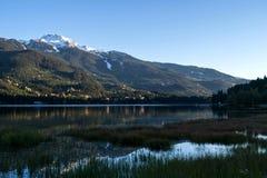 Alta Lake im Fall lizenzfreies stockbild