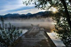 Alta Lake Whistler Fotografia Stock Libera da Diritti