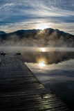 Alta Lake Whistler Fotografie Stock