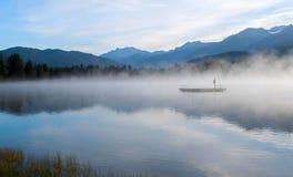 Alta Lake Whistler Fotografia Stock