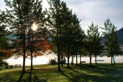 Alta Lake Whistler Fotografie Stock Libere da Diritti