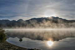 Alta Lake Whistler Immagini Stock