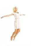 Alta levitazione chiave di bellezza Immagini Stock Libere da Diritti