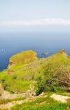 Alta linea costiera sull'isola di Brava Fotografie Stock Libere da Diritti