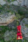 Alta linea e uno strecher di AVED Fotografia Stock
