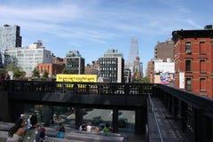 Alta linea - New York Immagine Stock Libera da Diritti