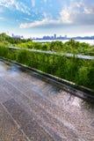 Alta linea parco Manhattan New York Stati Uniti Fotografia Stock