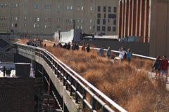 Alta linea parco in New York Immagini Stock Libere da Diritti