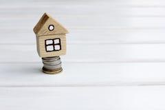 Alta liquidità dell'aumento del bene immobile nel prezzo Fotografie Stock Libere da Diritti