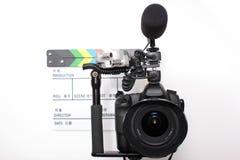 Alta macchina fotografica di definizione SLR di Digitahi Fotografia Stock Libera da Diritti