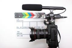 Alta macchina fotografica di definizione SLR di Digitahi Immagine Stock Libera da Diritti