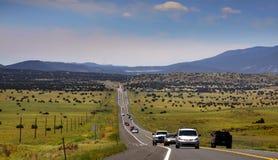Alta manera en Arizona Fotos de archivo libres de regalías