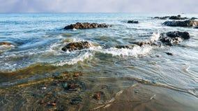 Alta marea imagen de archivo libre de regalías